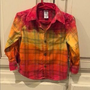 One of a kind, adorable flannel shirt